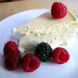 Receta de pastel de queso bajo en carbohidratos