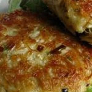 Tortas de atún y caballa bajas en carbohidratos