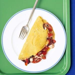 Tortilla mediterránea