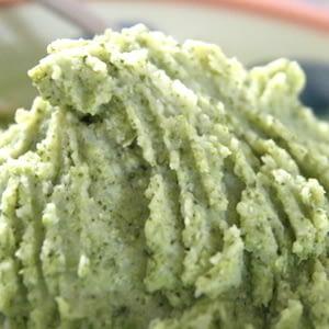 Puré de papas con brócoli