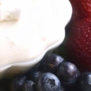 Cheesecake Fruit Dip recetas