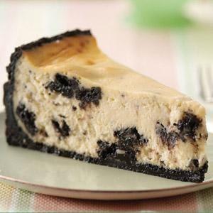 Pastel de queso Oreo