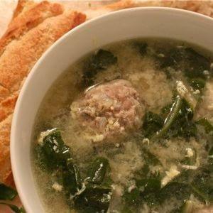 Receta italiana de sopa de boda