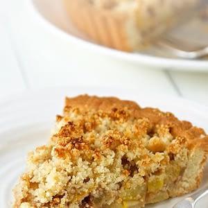 Recetas de pastel de manzana con bajo contenido de carbohidratos