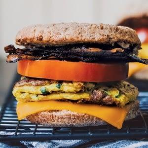 El sándwich de desayuno vegano más simpl