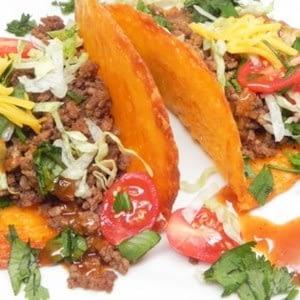 Tacos de Carne Roja Ceto Fácil