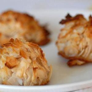 Paleo macarrones de coco