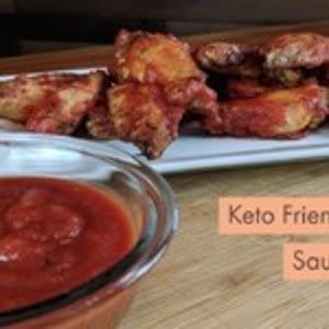 Salsa para barbacoa Keto – Plástico bajo en gallina