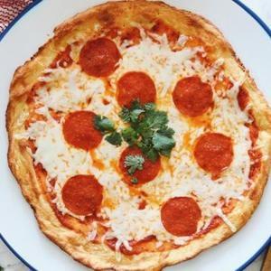 Pizza Ceto Con Pepperoni