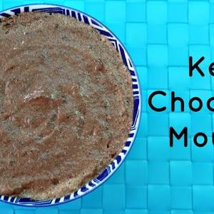 Recetas de mousse de chocolate ceto