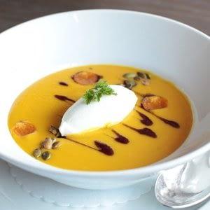Sopa De Squash De Otoño De DBGB Cocina Y Ba