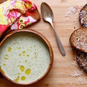 Crema Vegana De Sopa De Brócoli