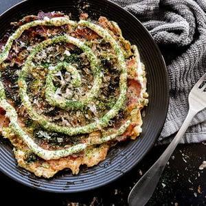 Keto Okonomiyaki recetas