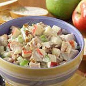 Programa de pérdida de peso de HCG – Receta de ensalada de pollo con manzana