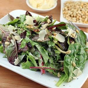 Recetas de ensalada de primavera verde Keto Blended
