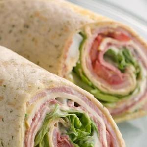 Roll-Up de tortilla baja en carbohidratos