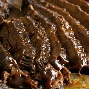 Slack Cooker Barbecue Beef Brisket recetas