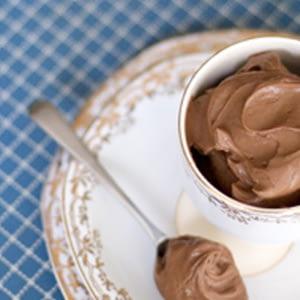 Receta de mousse de chocolate vegana con sabor a amaretto