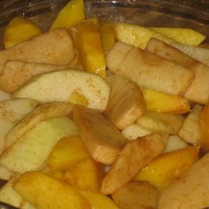 Weight Watchers Splenda manzanas al horno