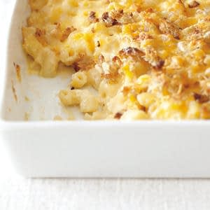 Macarrones y queso cremosos de ensueño