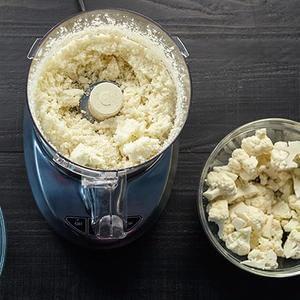 Arroz Frito con Coliflor Sin Grano