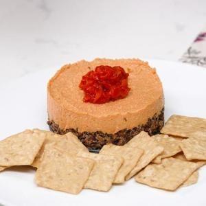 Cheesecake De Pimiento Vegano Sabroso