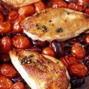 Recetas mediterraneas de pollo