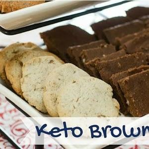 Recetas de Brownies Ceto