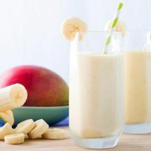 Batidos De Mango De Plátano
