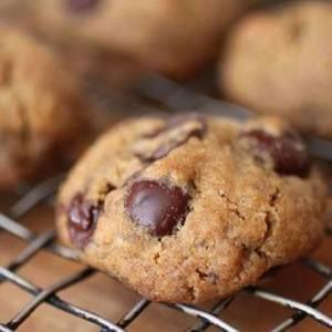 Martes sin gluten: receta de galletas de chispas de chocolate veganas
