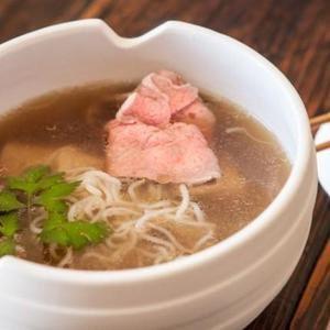 Cocina vietnamita Pho Stress (sopa de fideos)
